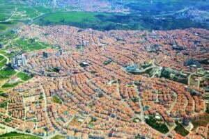 city, ankara, it's in the air